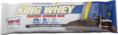 Ronnie Coleman Signature Series King Whey Protein Crunch Bar - 1 Bar T