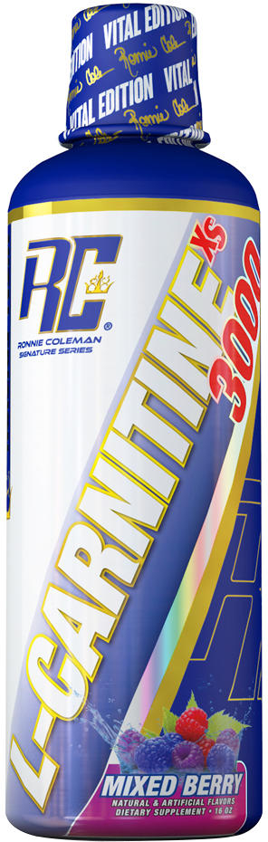 Ronnie Coleman Signature Series L-Carnitine - 31 Servings Mixed Berry