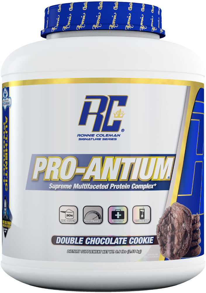 Ronnie Coleman Signature Series Pro-Antium - 5.6lbs Double Chocolate C
