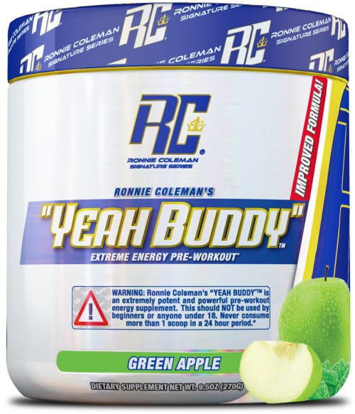 Ronnie Coleman Signature Series YEAH BUDDY - 30 Servings Green Apple