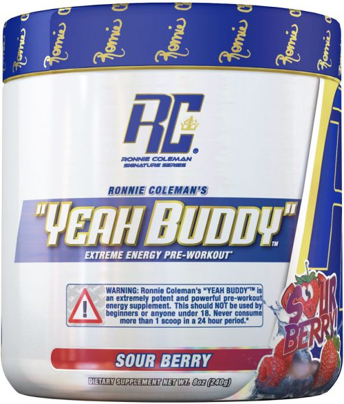 Ronnie Coleman Signature Series YEAH BUDDY - 30 Servings Sour Berry