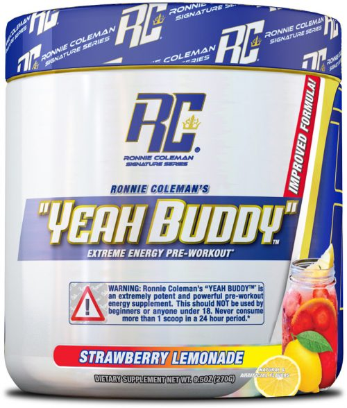Ronnie Coleman Signature Series YEAH BUDDY - 30 Servings Strawberry Le