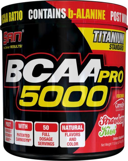 SAN BCAA-Pro 5000 - 50 Servings Strawberry Kiwi