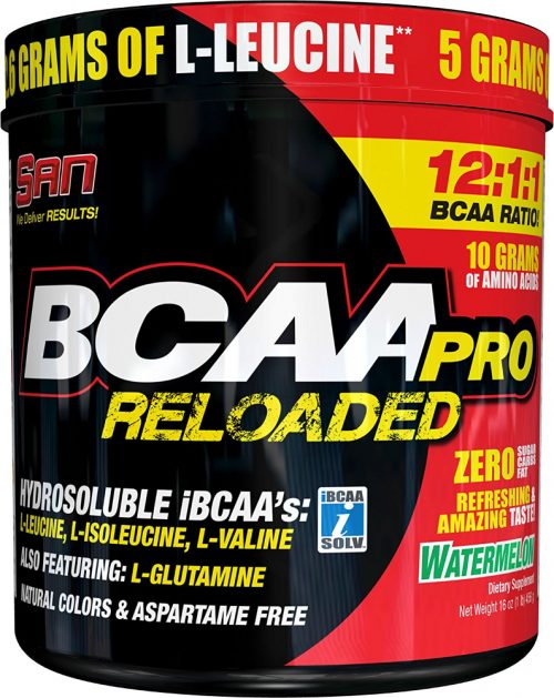 SAN BCAA Pro Reloaded - 40 Servings Blue Raspberry