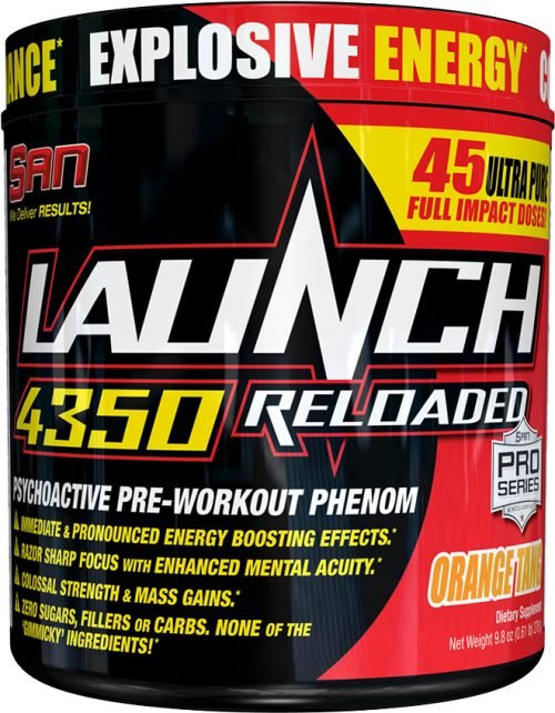 SAN Launch 4350 Reloaded - 45 Servings Watermelon