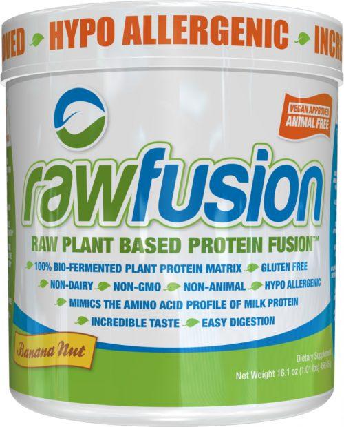 SAN Raw Fusion - 1lb Banana Nut