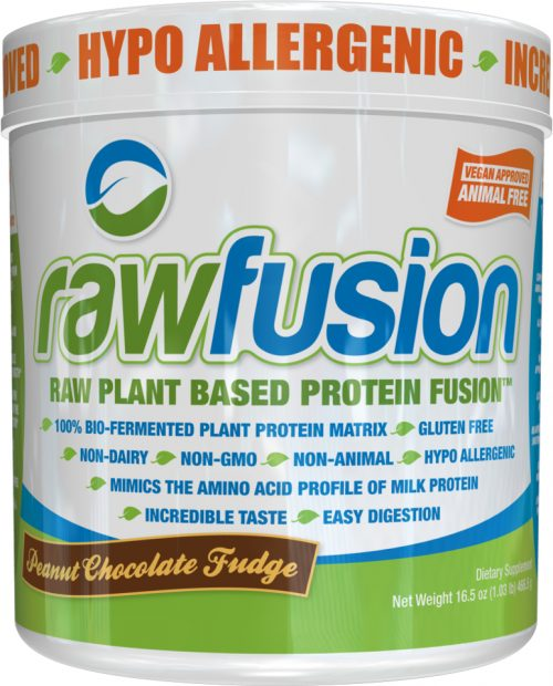 SAN Raw Fusion - 1lb Peanut Chocolate Fudge