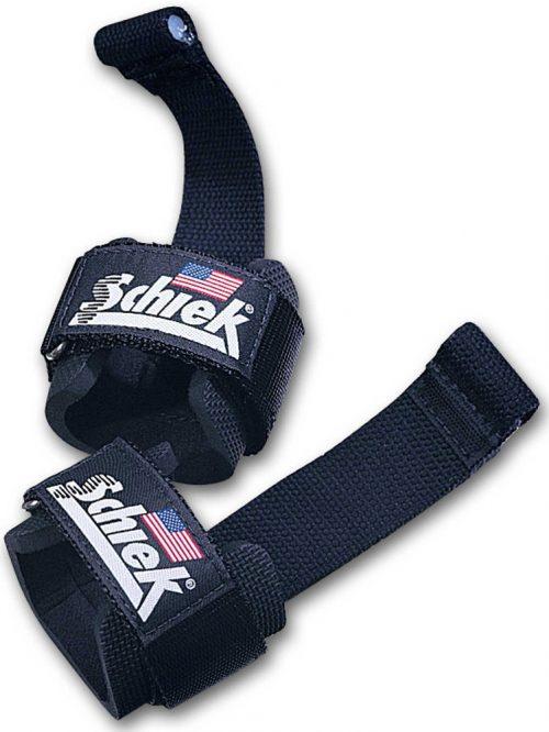 Schiek Sports Model 1000DLS Dowel Lifting Straps - One Size Blue