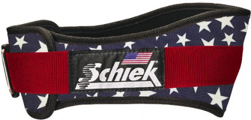 "Schiek Sports Model 2006 6"" Lifting Belt - Stars & Stripes XL"