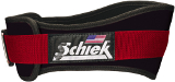 "Schiek Sports Model 3004 4.75"" Power Lifting Belt - Black/Red Large"