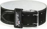Schiek Sports Model L6010 Double Prong Competition Belt - Black Large