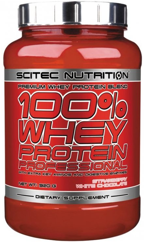 Scitec Nutrition 100% Whey Protein Professional - 30 Servings Strawber