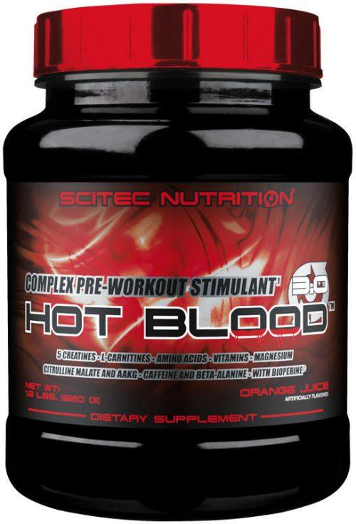Scitec Nutrition Hot Blood - 41 Servings Orange Juice