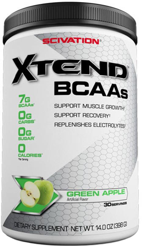 Scivation Xtend - 30 Servings Green Apple Explosion