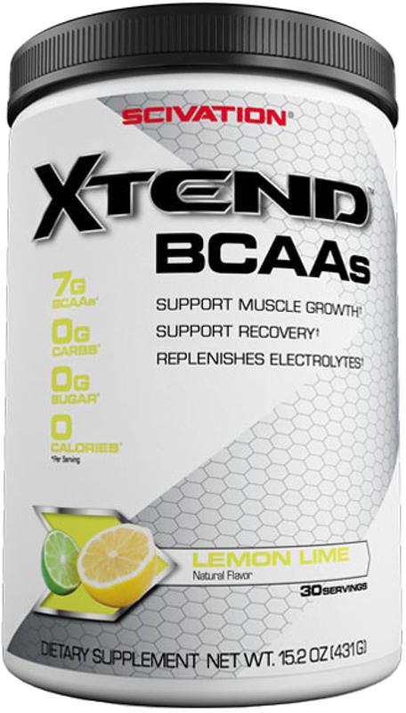 Scivation Xtend - 30 Servings Lemon Lime Sour