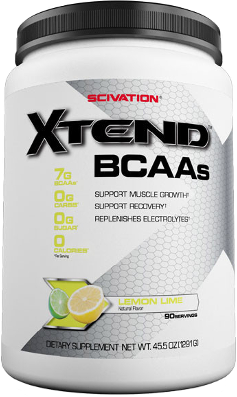 Scivation Xtend - 90 Servings Lemon Lime Sour