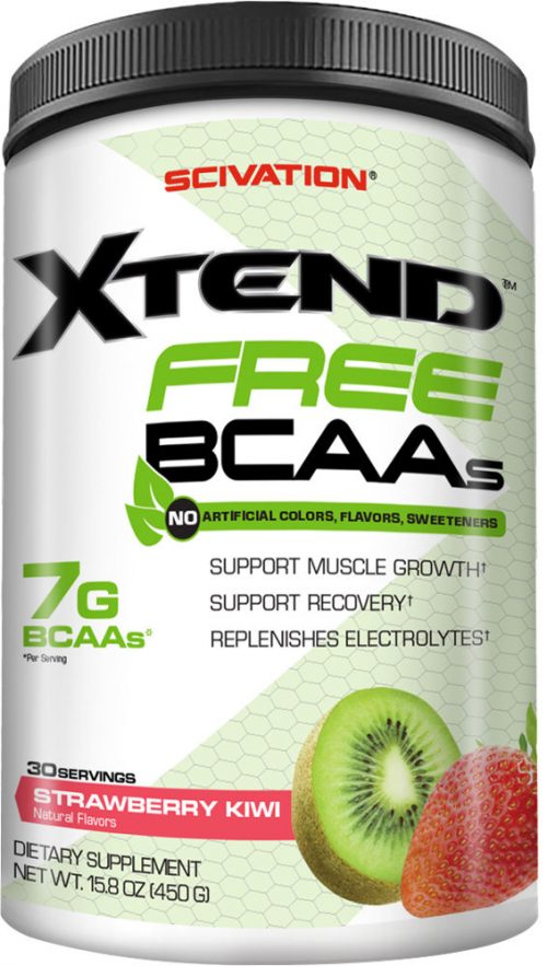 Scivation Xtend FREE - 30 Servings Strawberry Kiwi