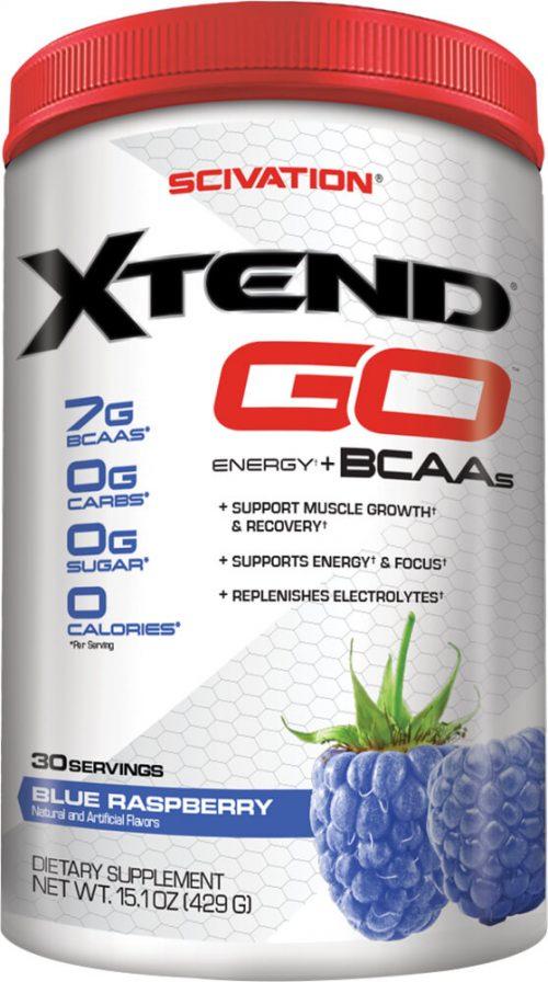 Scivation Xtend GO - 30 Servings Blue Raspberry