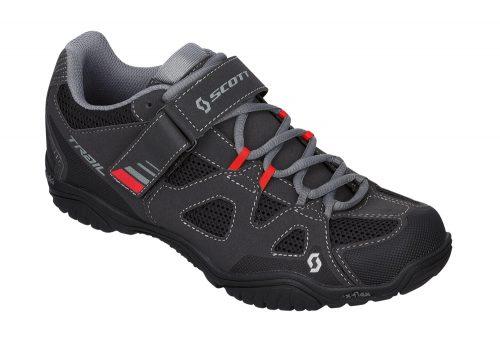 Scott Trail EVO Shoes - black/red, eu 45