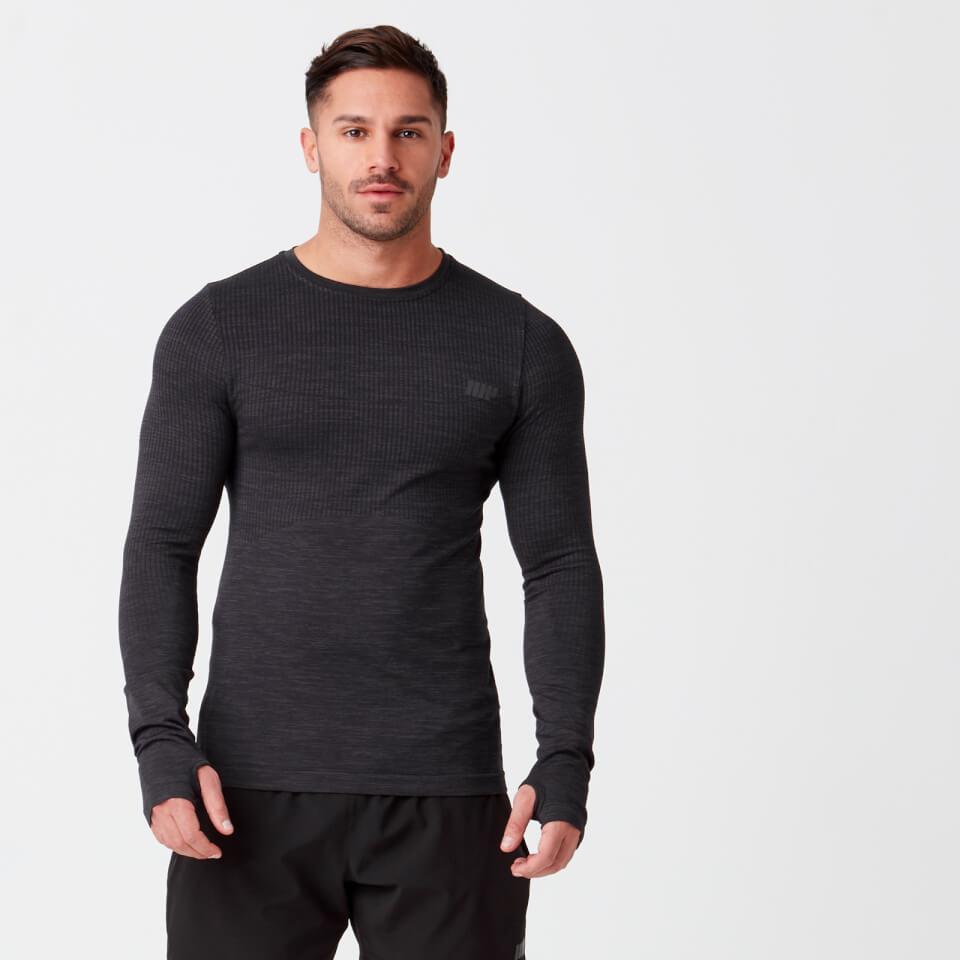Sculpt Seamless T-Shirt - Black - XL