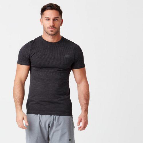 Sculpt Seamless T-Shirt - Black - XS