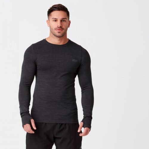 Sculpt Seamless T-Shirt - Black - XS
