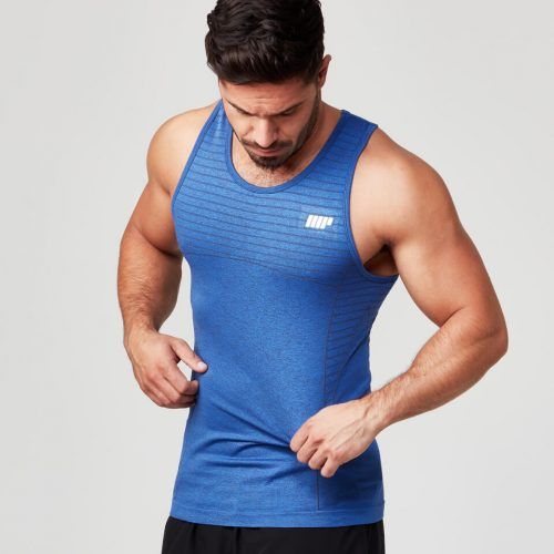 Seamless Tank Top - Navy - XXL