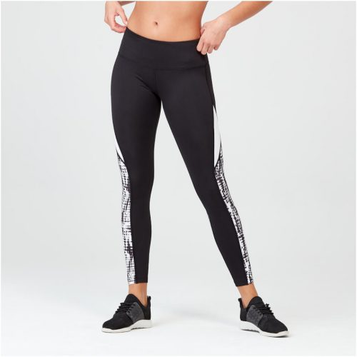 Shadow Print Leggings - Mono - XL