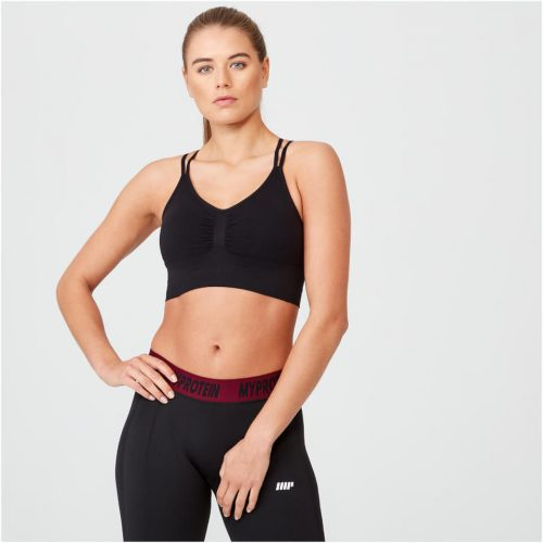 Shape Seamless Sports Bra - Black - XS