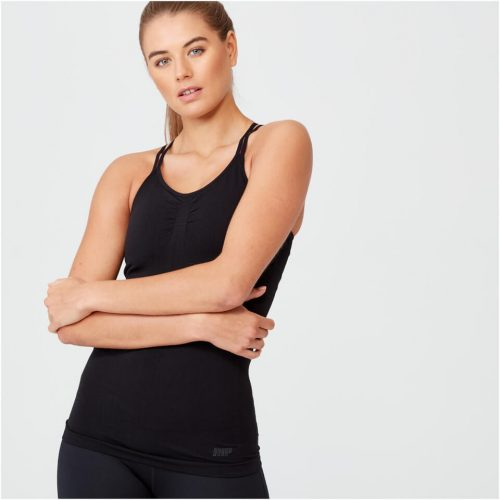 Shape Seamless Vest - Black - L