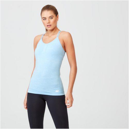 Shape Seamless Vest - Light Blue Marl - S