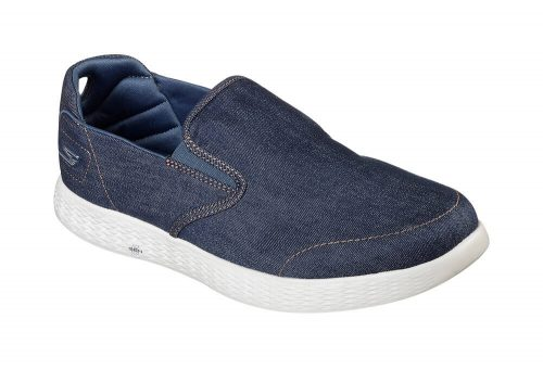 Skechers Denim Slip Ons - Men's - denim, 11.5