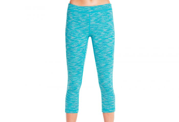 Skechers Solstice Midcalf Legging - Women's - teal, large