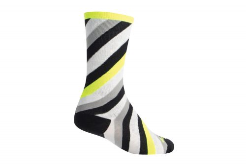 Sock Guy Cursor Crew Socks - black/grey, s/m