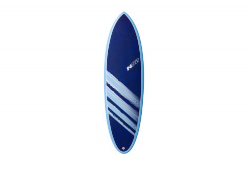 Surftech NSP 04 Cocomat Hybrid Short Surf VC 6'0 Surfboard - blue, one size