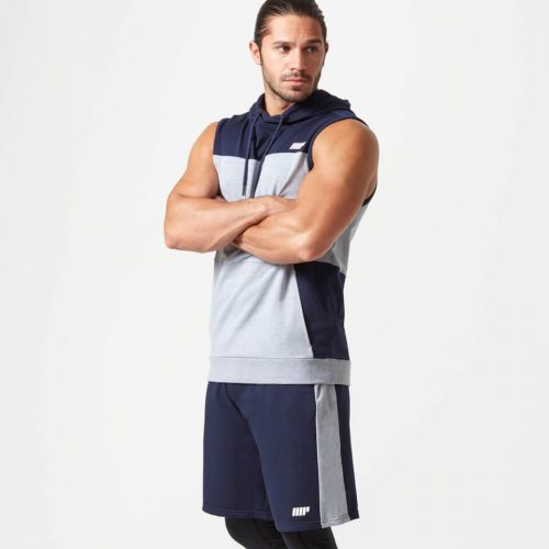 The Navy Superlite Outfit Bundle - Shorts - L - Hoodie - L