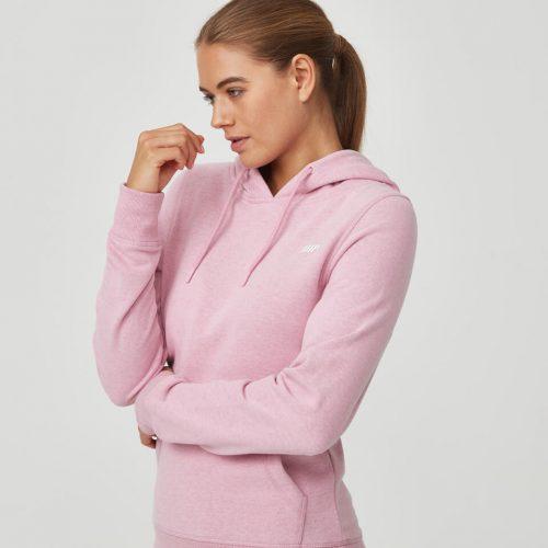 Tru-Fit Pullover Hoodie - Pink Haze Marl - M