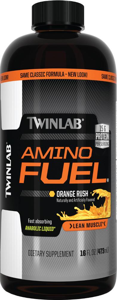 Twinlab Amino Fuel Liquid - 32oz Orange Rush