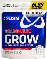 USN Anabolic Grow - 6lbs Vanilla Ice Cream