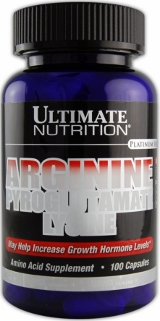 Ultimate Nutrition Arginine Pyroglutamate with Lysine - 100 Capsules