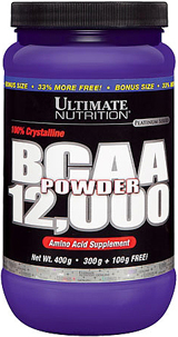 Ultimate Nutrition BCAA 12,000 Powder - 60 Servings Unflavored