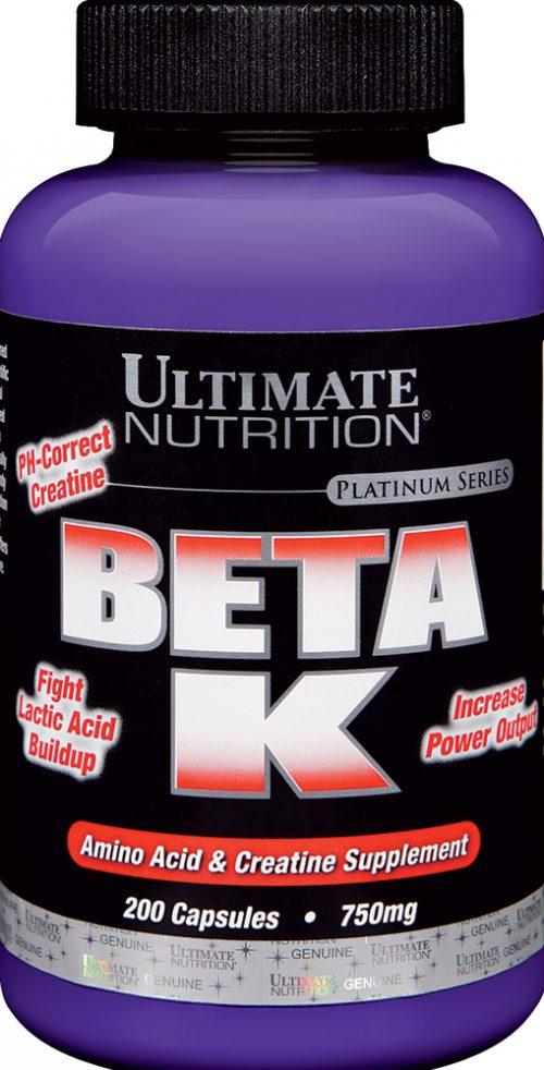 Ultimate Nutrition Beta K - 200 Capsules