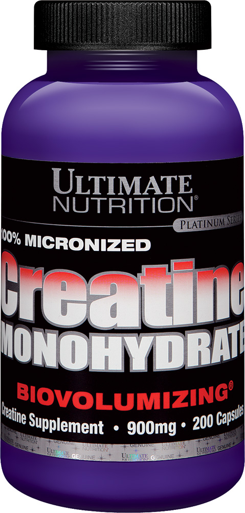 Ultimate Nutrition Creatine Monohydrate - 200 Capsules