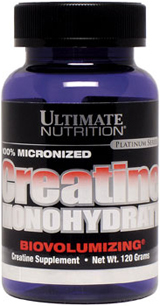 Ultimate Nutrition Creatine Monohydrate - 300g