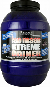 Ultimate Nutrition Iso Mass Gainer Xtreme - 10.11lbs Iced Coffee