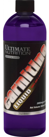 Ultimate Nutrition Liquid L-Carnitine - 12oz Unflavored