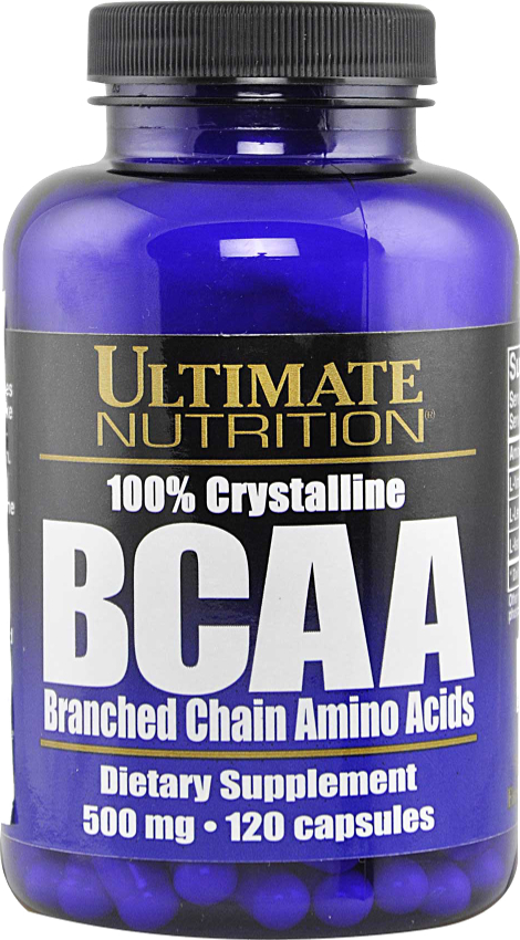 Ultimate Nutrition Massive BCAA - 120 Capsules Crystalline BCAA