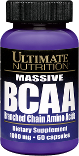 Ultimate Nutrition Massive BCAA - 60 Capsules Massive BCAA