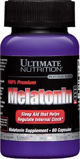 Ultimate Nutrition Premium Melatonin - 60 Capsules