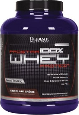 Ultimate Nutrition Prostar 100% Whey Protein - 5lbs Chocolate Creme